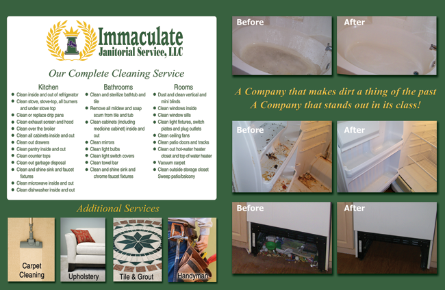 We Clean Tampa Bay About Immaculate Janitorial Services