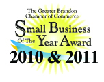 Small Business of The Year - Brandon Chamber